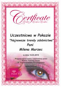 Zdobnictwo paznokci kosmetyczka Poznań