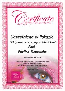 Zdobnictwo paznokci Saphona Poznań