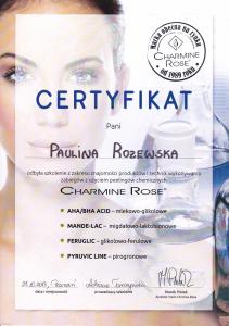 Charmine Rose kosmetyczka Saphona Poznań