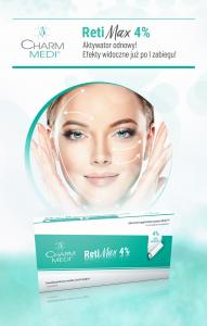 Retinol Collagen Boost z maską RetiMax 4% w salonie urody Saphona Poznań