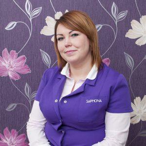Paulina Kliczbor - kosmetyczka Saphona