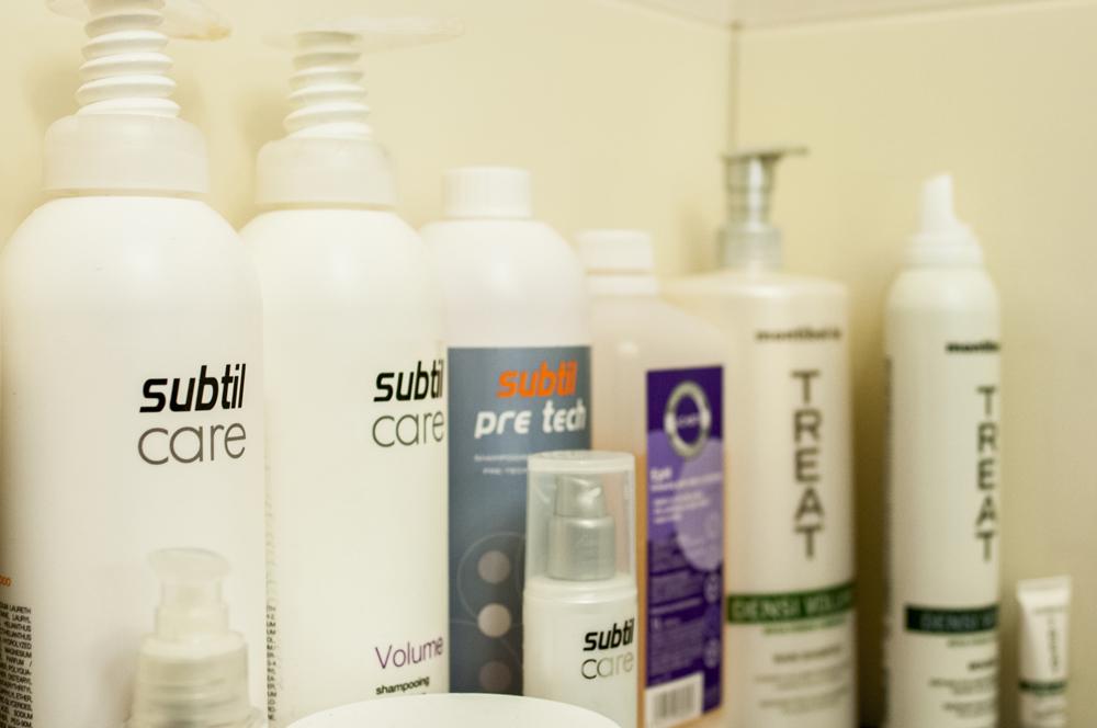 Profesjonalne kosmetyki fryzjerskie Subtil Laboratoire Ducastel na myjce.