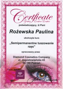 Semipermanentne tuszowanie rzęs Saphona Poznań